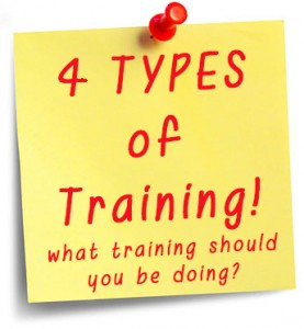 4 types of training Workout Videos