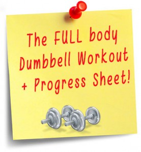 the full body dumbbell Workout